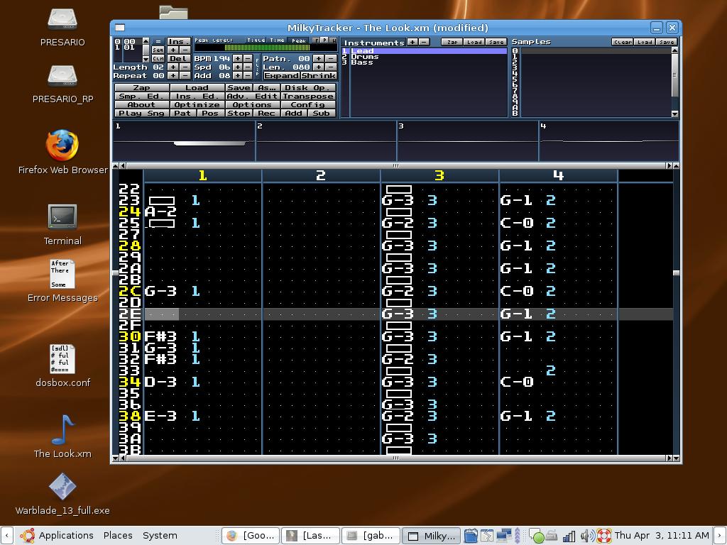 MilkyTracker for Linux 1.03.00 full